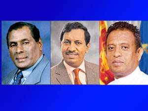 Stern Action Against Anura Yapa - John Seneviratne - Chandima: Removed From Top Posts Of District Development Committees