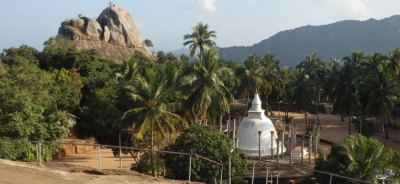 Police Arrest Two Students From Muttur For Taking Photographs Atop Small Stupa Within Mihintale Sacred Area