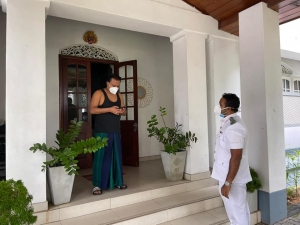 Wimal Weerawansa Under Self-Quarantine For 14 Days As Several Security Officers Tested Positive For COVD19