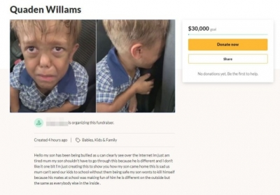 Scammers target bullied boy with dwarfism by setting up fake fundraisers