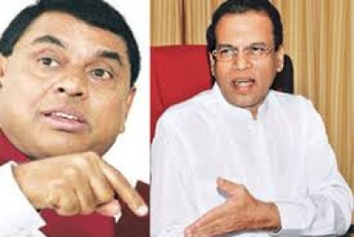 President Sirisena Holds Special Discussion With Basil: Meeting Centres Around Current Political Crisis