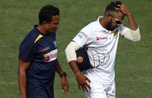 Sri Lanka Suffers Major Injury Scare As Kusal Mendis As Ball Strikes Kusal Mendis On Hand