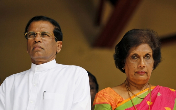 President Sirisena And CBK Present At Bandaranaike's Birth Anniversary Event: No Discussion Between The Two