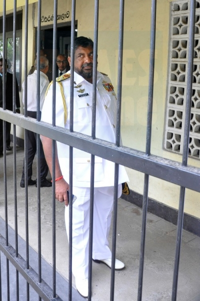 Admiral Ravindra Wijegunaratne Remanded For Aiding Navy Sampath: Magistrate Denies Bail To Prevent Obstructions To Investigations