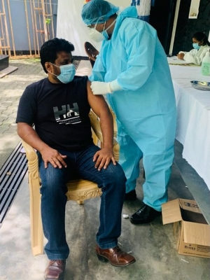 Anura Becomes First Political Party Leader In Sri Lanka To Publicise Photographs Of COVID19 Vaccination Process