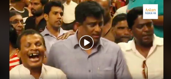 UNP in High Spirits At Temple Trees: Merry-Making Amidst Growing Political Crisis [VIDEO]