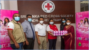 Eva Joins Hands with Sri Lanka Red Cross Society  to provide for the Sanitary Needs of Women in Flood-affected Areas