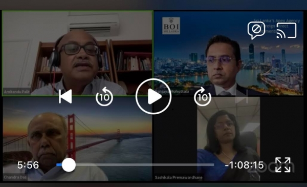 Pathfinder & ISAS conduct webinar on Creating a Compelling Investment Climate in Sri Lanka