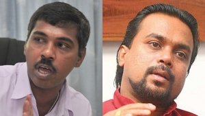 Parliament Passes Motions To Suspend JO MPs Wimal Weerawansa and Prasanna Ranaweera For Four Weeks
