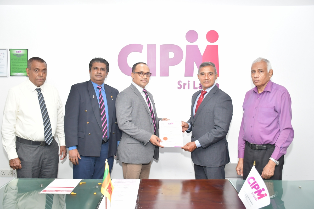 CIPM Chartered Member Admiral Piyal De Silva Appointed Ambassador to Afghanistan