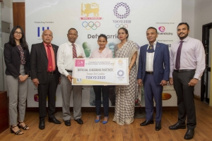 A Cheering Campaign to Support Team Sri Lanka at TOKYO 2020 Launched by Eva, the Official Cheering Partner