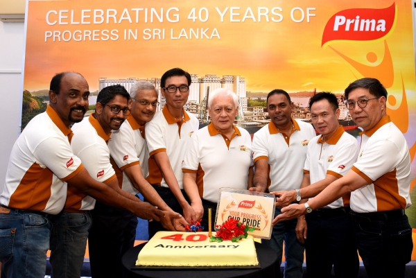 PRIMA CEYLON Celebrates  Landmark 40 Years in Sri Lanka