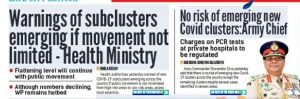Will There Be New COVID19 Clusters? Army Commander And Health Ministry Make Contradictory Statements Leaving The Public In Utter Confusion