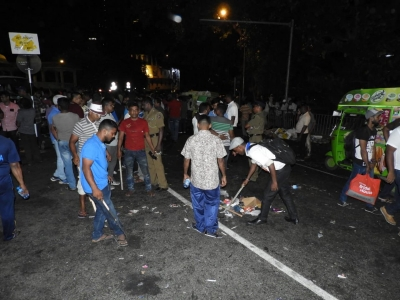 'Jana Balaya Kolambata' Ends As Crowds Leave: JO Members Start Cleaning Up: No Overnight Protest As Planned