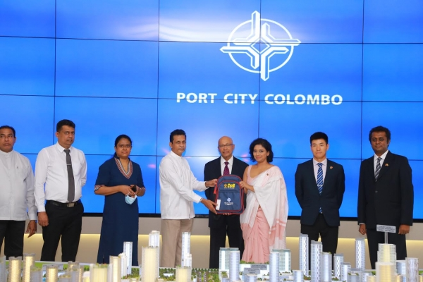 Rs. 1 million worth school bags to 1,000 students in Monaragala from Port City Colombo