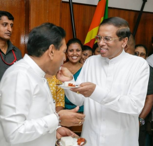 President Says He Wants Rajitha Senaratne To Become Head Of State  One Day