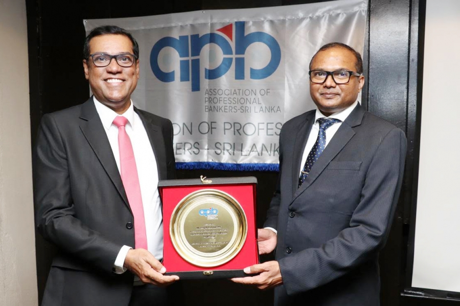 People's Bank CEO/ General Manager felicitated by Association of Professional Bankers