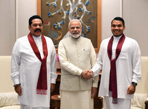 Modi Meets MR And Namal In New Delhi: Second Meeting After MR Lost Presidency