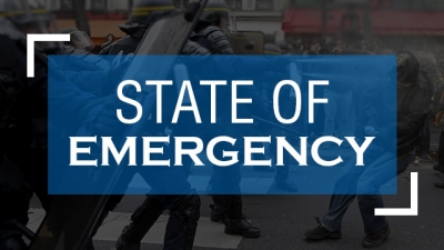 President Declares State Of Emergency: Says Police And Armed Forces Have Been 'Empowered' To Restore Normalcy