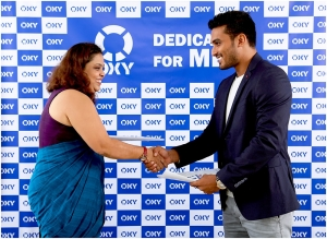 Hemal Ranasinghe appointed 'OXY' Brand Ambassador