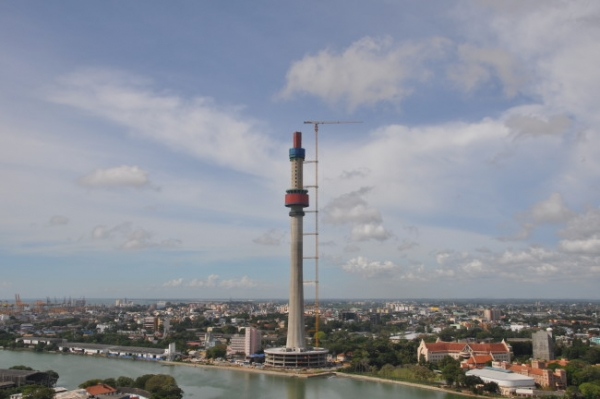 Police Say 19 Year Old Worker Dies After Falling Off From Colombo's Lotus Tower