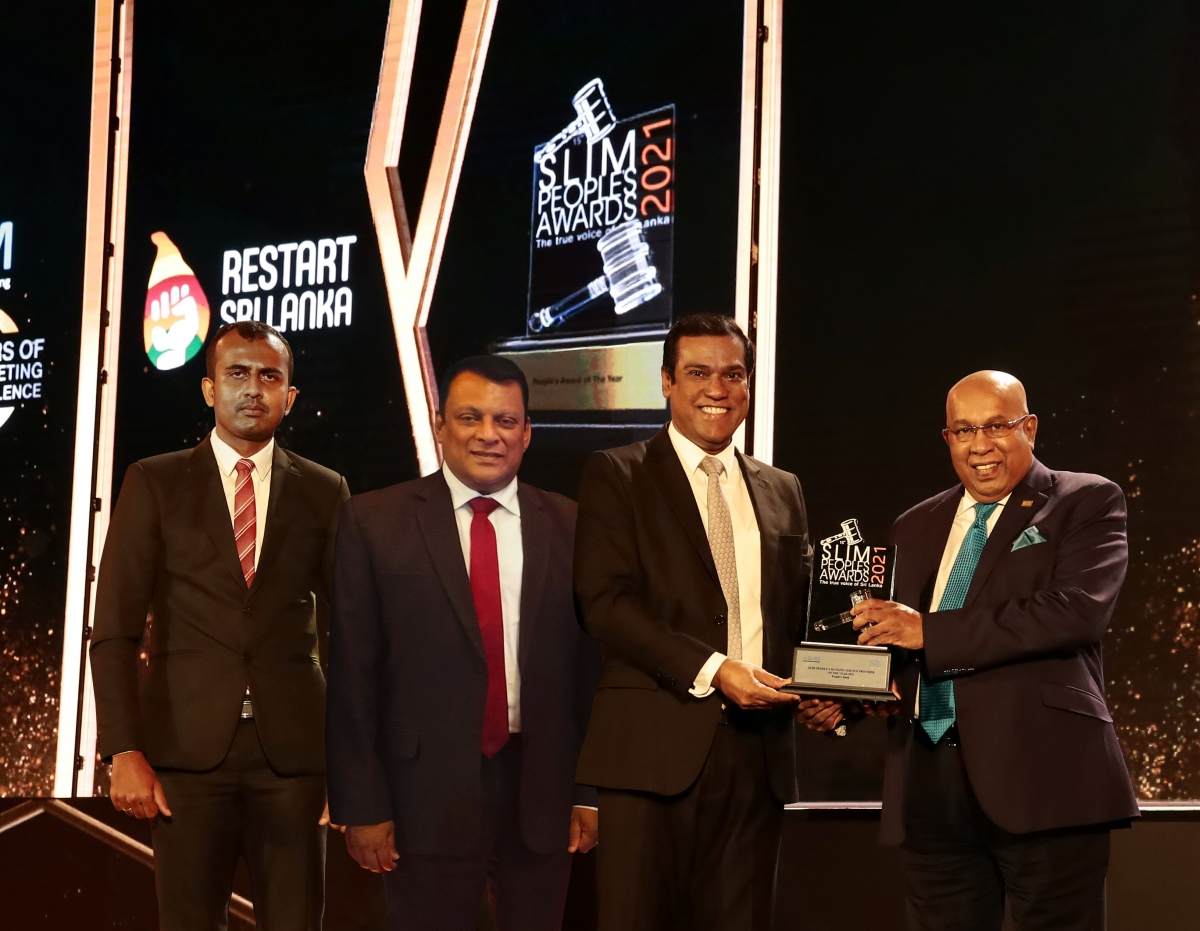 People's Bank crowned as the 'People's Choice' for 15th consecutive year at SLIM Nielsen People's Awards 2021