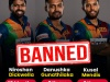 Gunathilaka, Mendis Banned For 2 Years: Dickwella Handed 18-month Suspension From All Forms Of Cricket