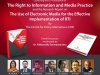"Watch Live: The Launch of The RTI Publication, ""The Right to Information and Media Practice"